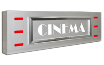 Contempo Cinema Identity Sign
