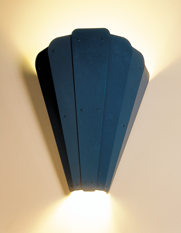fanfare wall sconce