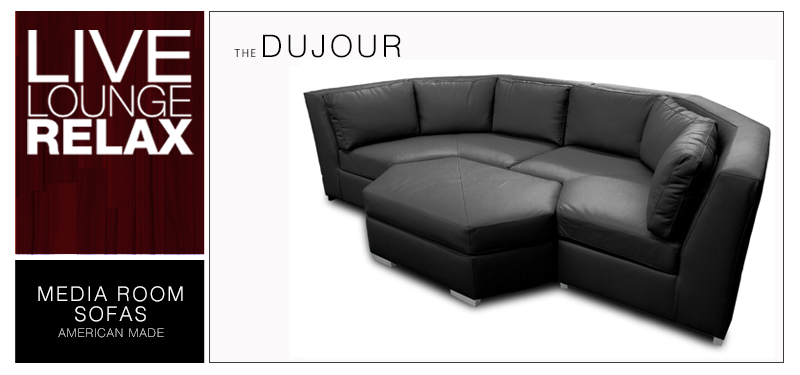 The Dujour a Media Room Sofa