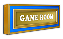 halolite game room sign
