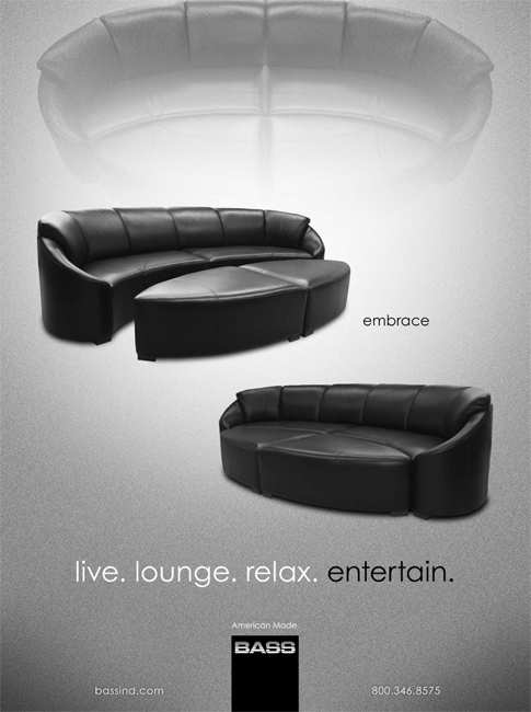 As seen in CE Pro November 2011 Edition, Embrace - Black Solid
