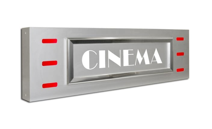 Authentic Cinema Signage