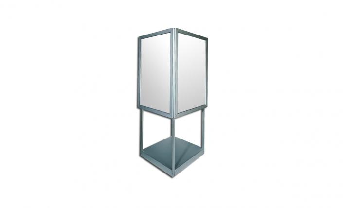 bass loc kiosk freestanding frame