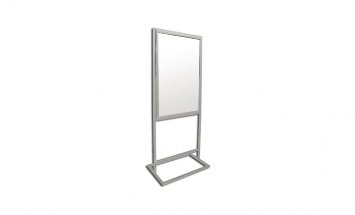 bass loc pedestal freestanding frame