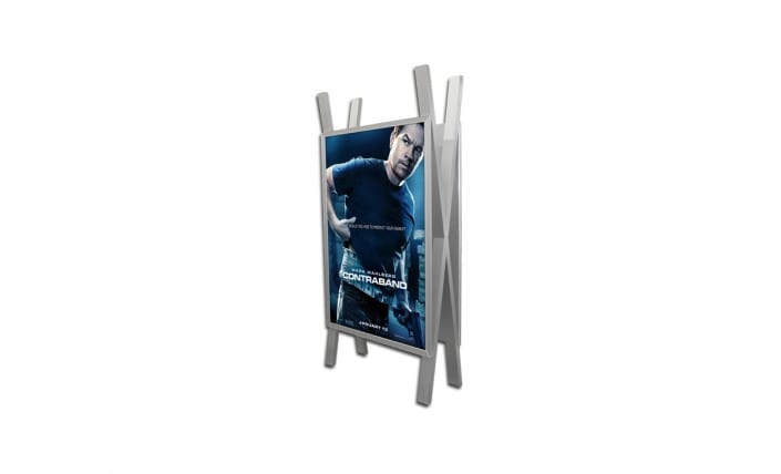 exhibitor xl freestanding frame
