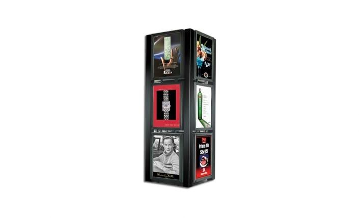 graphic series kiosk