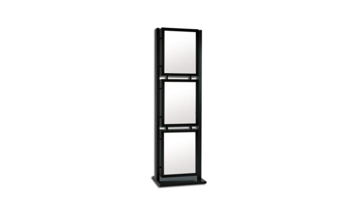 graphic tower series freestanding frame