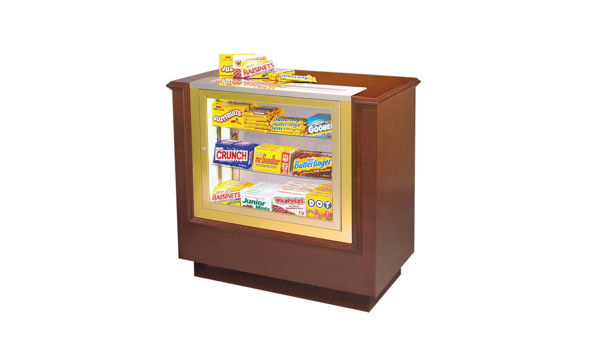 hardwood concession stand