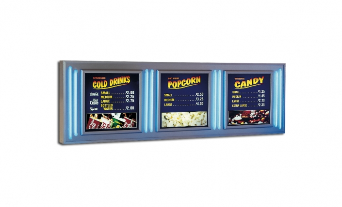 neon windows concession sign