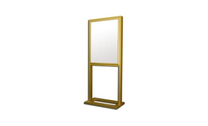 tubular series freestanding frame