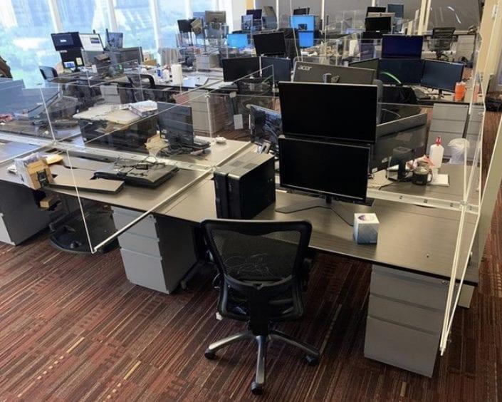 Desk Partition Panels