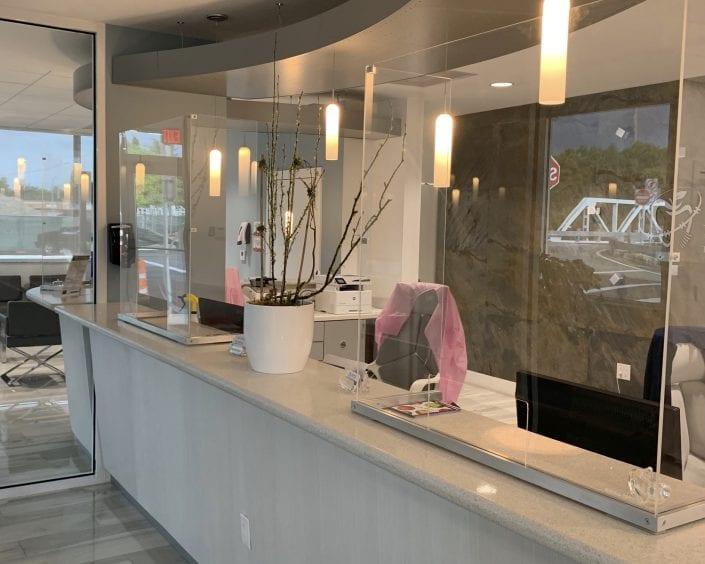 Reception Desk Panel