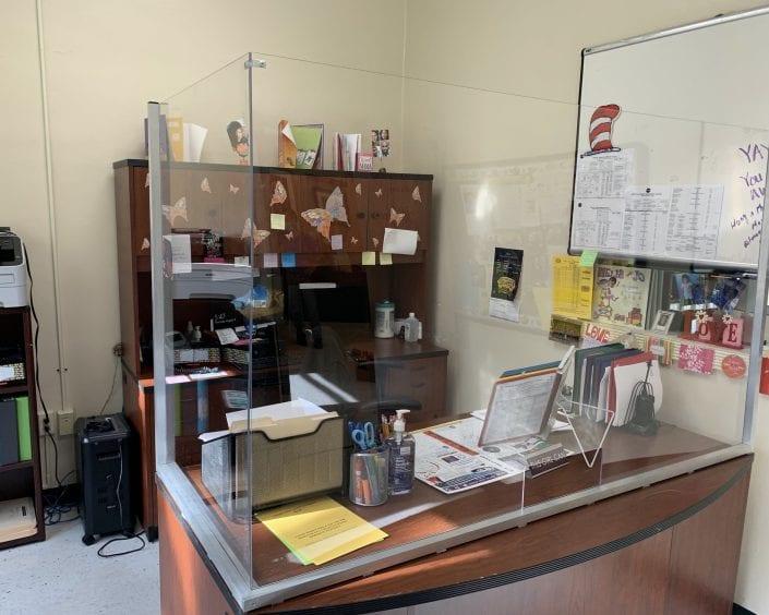 Administrative Office Desk Panel