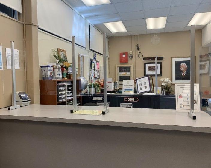 Main Office Front Desk Panel