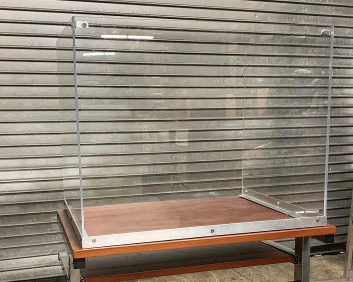 School Desk Partition Panel